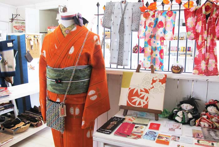 The fair offers a chance to purchase kimonos and all accessories at rock bottom prices.