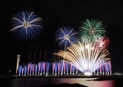 The annual Ryukyu Kaiensai fireworks festival gears up for Apr. 9th.