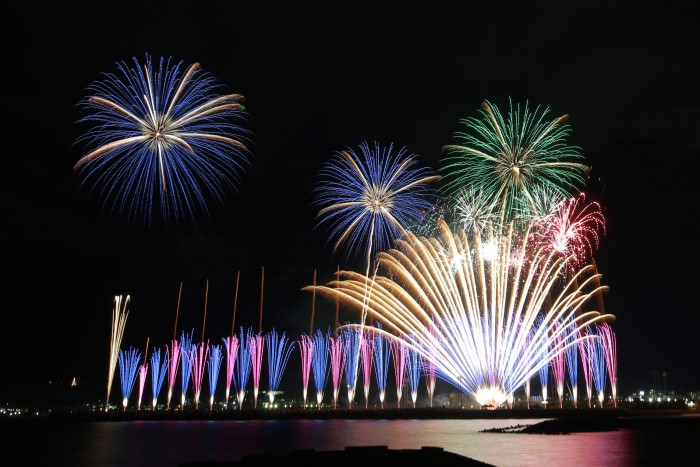 The annual Ryukyu Kaiensai fireworks festival gears up for Apr. 9th.
