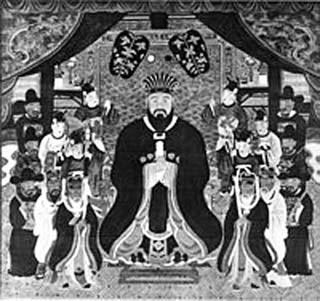 King Sho Shin made Ryukyu prosperous.