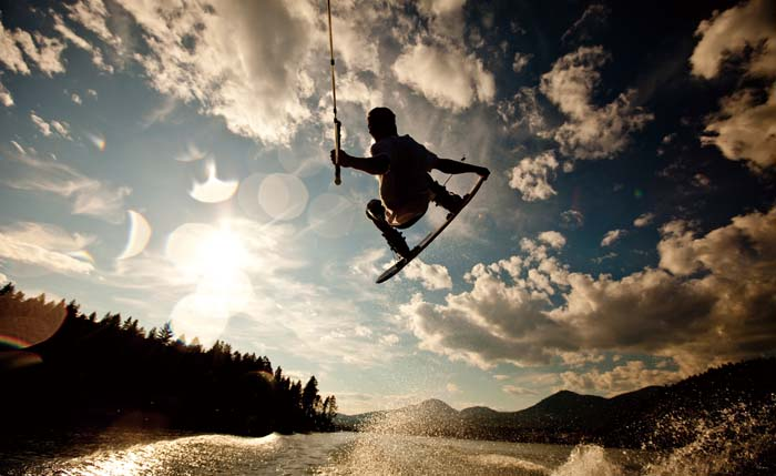 Wakeboard competitors are scheduled to show their skills at Fisherina on Saturday.