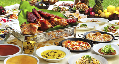 Renaissance's Golden Lunch Buffet is certainly one of the most sumptuous on the island.