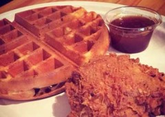 Dave Chicken & Waffles top