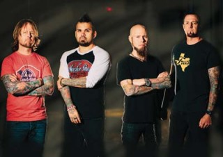 Drowning Pool headlines the entertainment on Saturday.