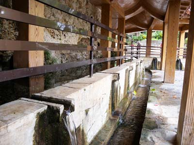 The Ukkagaa Spring used to be the center of social life in the town.