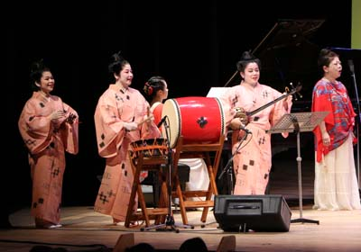 Performances of Okinawan music have proven to be very popular.