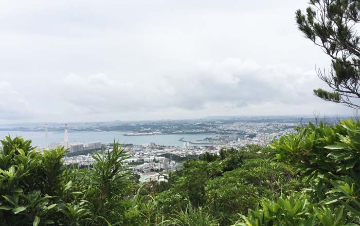 The view over Ishikawa from the top of the hill is quite impressive.