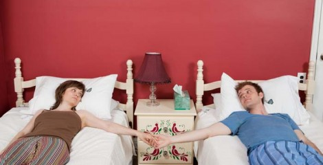 Separate bedrooms may not be that bad idea after all...