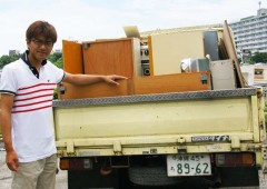 Yuraka Fukushima listened to his customers when working at a furniture store and went on to open his own business that helps people to get rid of their junk.