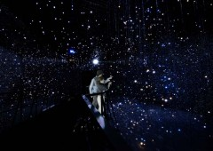 The 3D effect of the planetarium brings the stars almost close enough to touch.