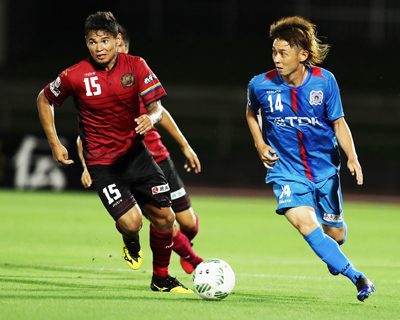 FC Ryukyu playes currently in the 3rd Division of Japan's J-League.