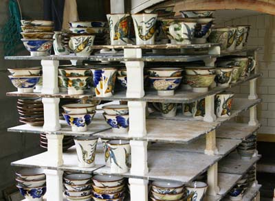 Hideyoshi Kinjo would like people to put his pottery to everyday use.