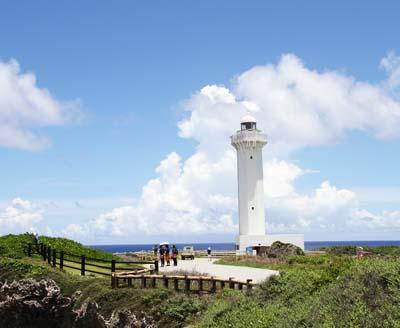 Higashihennazaki lighthouse.