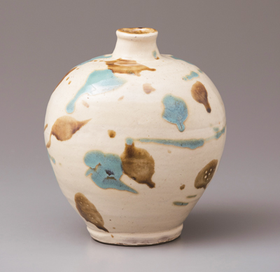 The exhibition covers all forms of arts and crafts, including pottery.