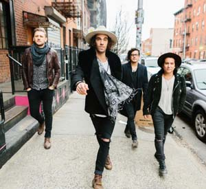 Pop Rock Band American Authors headlines the entertainment lineup, and is on stage at 20:30 on Saturday.