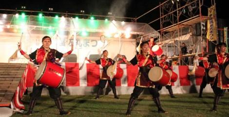 Gosamaru Festival is famous for its drum, eisa and shishimai performances.