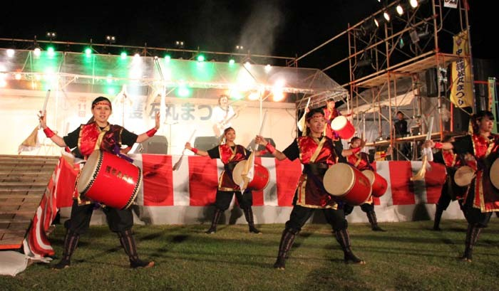 Gosamaru Festival is famous for its drum, eisa and shishimai performances.