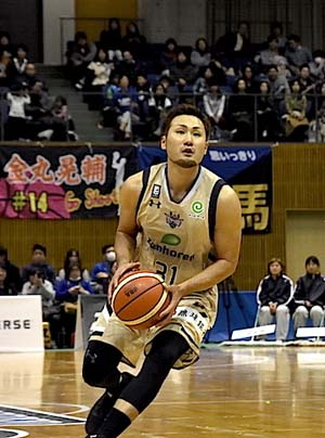 Shuhei Kitagawa made an 18-point effort on Sunday.