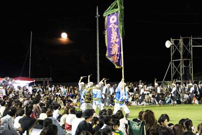 Obon brings out the ancestors' spirits and Eisa dancers to entertain them during their annual re-entering to the world of the living.