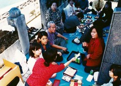 Shiimii, a sort of picnic at family tomb, is an important event.