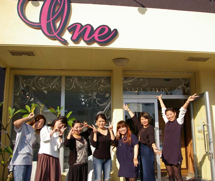 One for S,o;e staff is ready to welcome customers.