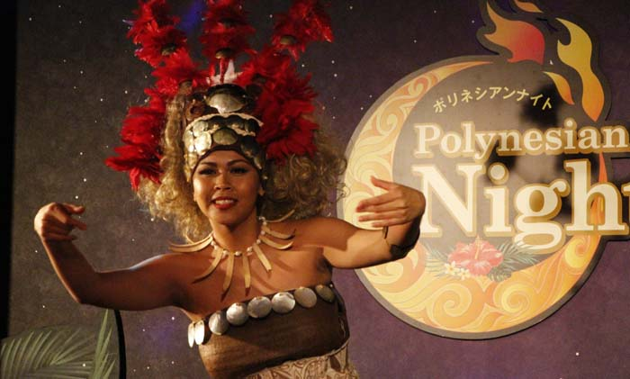 The 40-minute show takes the audience to various regions throughout Polynesia.