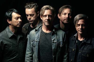 Alternative rock band Switchfoot takes stage on Saturday evening.
