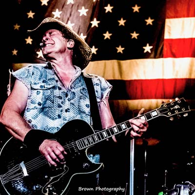 Ted Nugent;s turn on stage is Sunday at