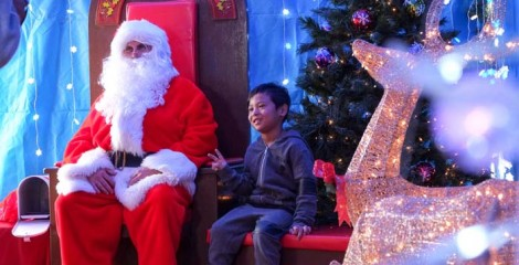 The Christmas boss himself will take children's wishes at the festival on both days.